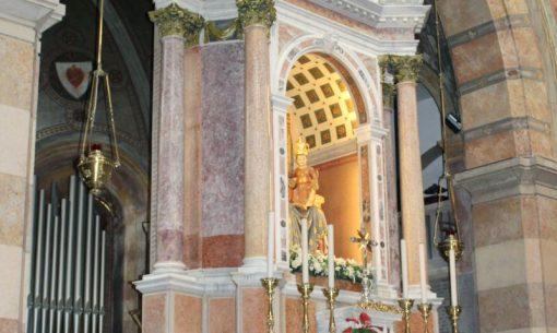 Svätyňa Barbana, lagúna Grado, Taliansko